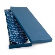 Corbata Azul caja