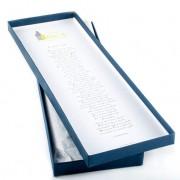 Corbata Azul texto