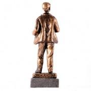 Escultura cuchilero Oro 3