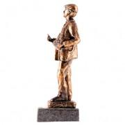 Escultura cuchilero Oro 4