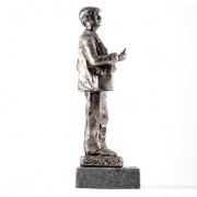 Escultura cuchilero Plata 2