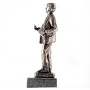 Escultura cuchilero Plata 4