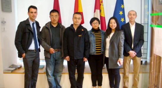 Delegacion empresarios chinos