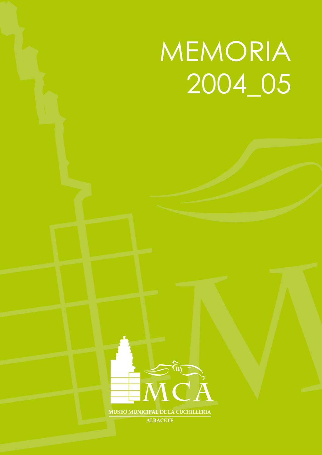 Memoria 2004/05