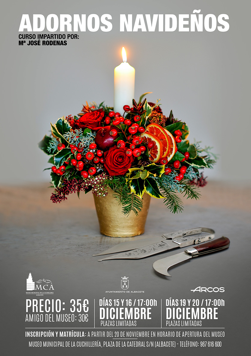 Curso: Adornos navideños