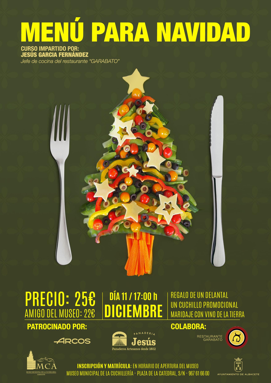 Curso: Menú para Navidad